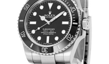 Rolex Submariner 114060, Baton, 2013, Very Good, Case material Steel, Bracelet material