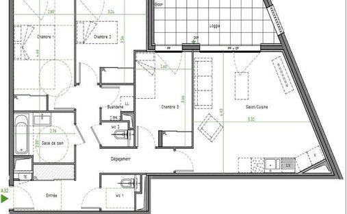 Apartment in Caluire-et-Cuire, Auvergne-Rhône-Alpes, France