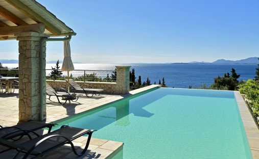 House in Kerkira, Greece