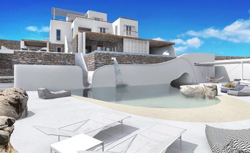 House in Mikonos, Greece
