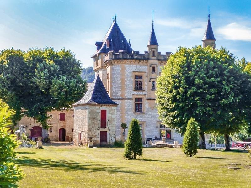 Chateau in Lanzac, Occitanie, France 1