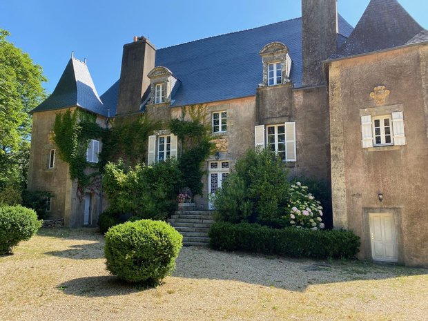 House in Auray, Brittany, France 1