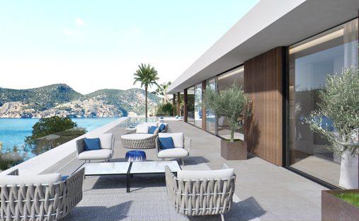 Land in Camp de Mar, Mallorca, Balearic Islands, Spain