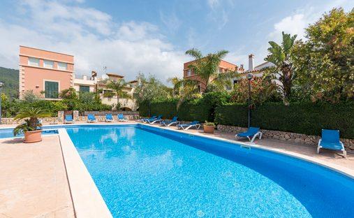 House in Camp de Mar, Mallorca, Balearic Islands, Spain