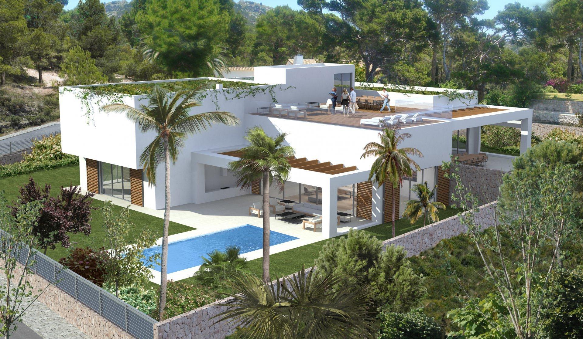 Villa in Sol de Mallorca, Balearic Islands, Spain 1
