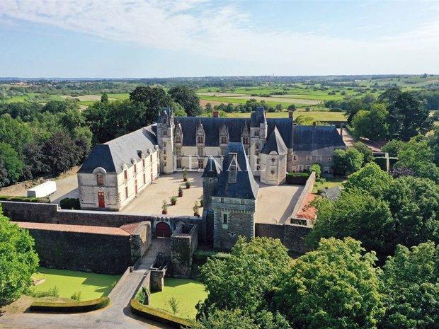 Castle in Nantes, Pays de la Loire, France 1