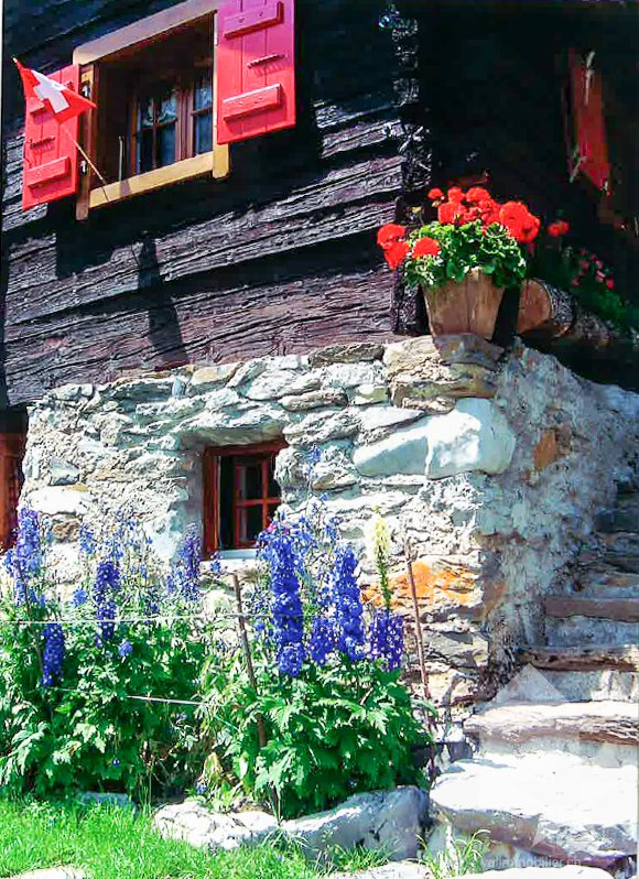 Chalet in Aven, Valais, Switzerland 1