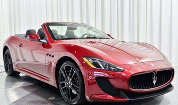 2017 Maserati GranTurismo Convertible MC
