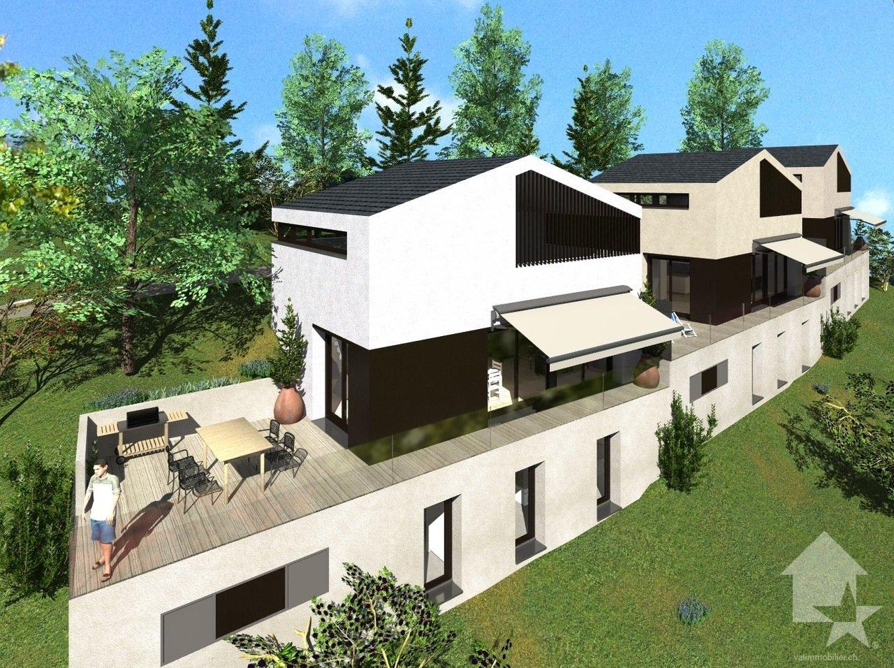 House in Saint-Romain (Ayent), Valais, Switzerland 1