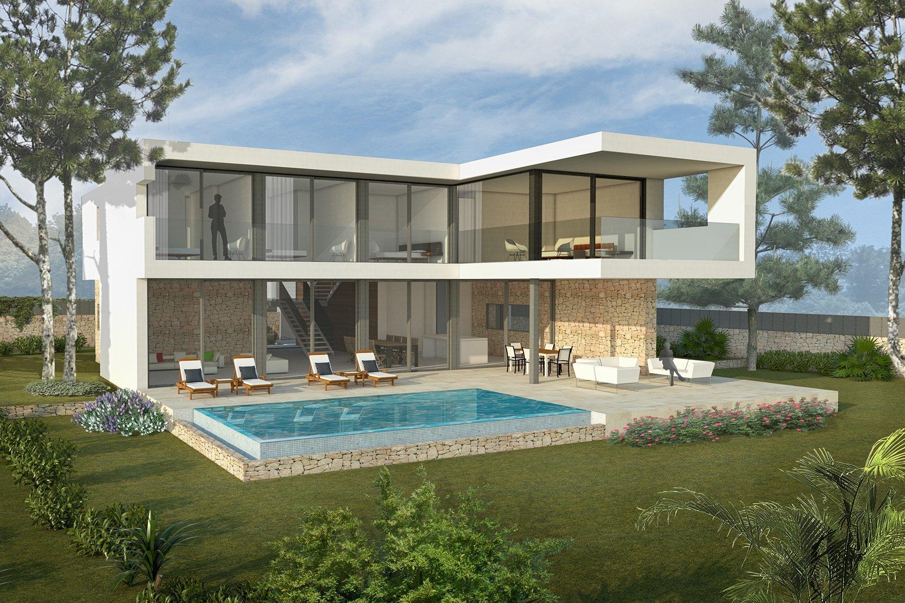 Villa in Cala Vinyes, Balearic Islands, Spain 1