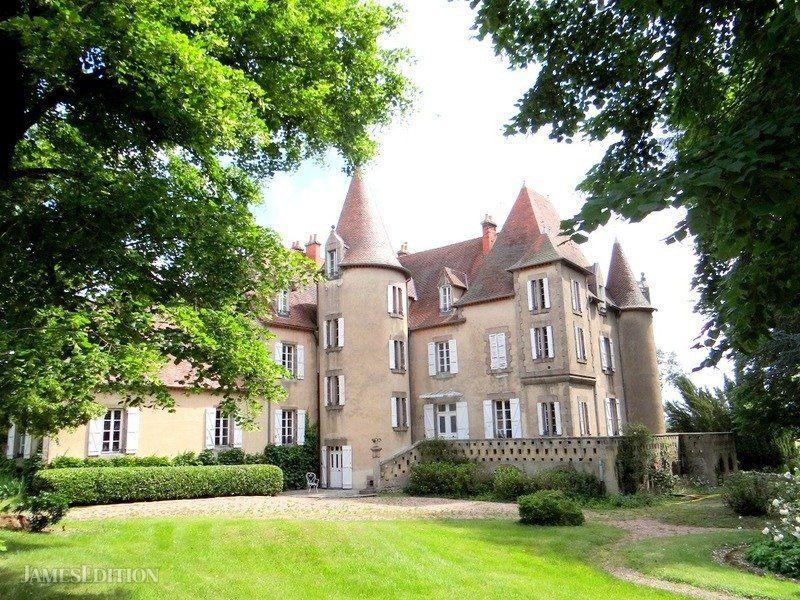 Castle in Clermont-Ferrand, Auvergne-Rhône-Alpes, France 1