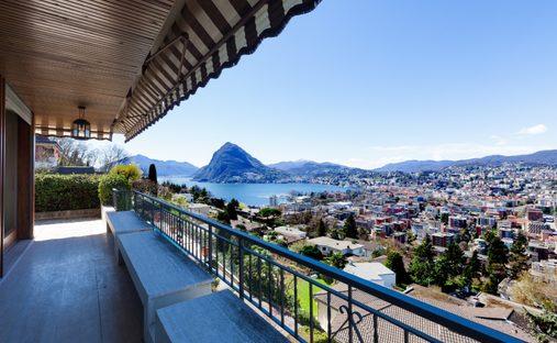 House in Lugano, Ticino, Switzerland