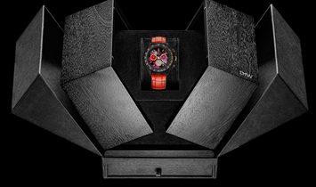 "Rolex DiW NTPT Carbon Daytona ""MOTLEY RED"" (Retail:US$53,990)"