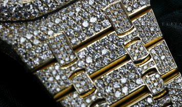 Audemars Piguet Royal Oak 25960BA.OO.1185BA.01 Bespoke Diamond Set