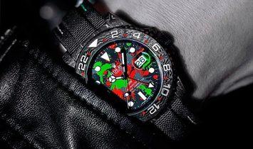 "Rolex DiW NTPT Carbon GMT-Master II ""MOTLEY GMT"" (Retail: US$43,000)"