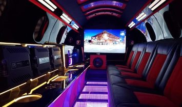The world's first street-legal LIMO JET