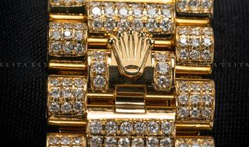 Rolex Day-Date 40 228238 Bespoke Full Diamond Set