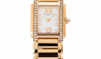 Patek Philippe Twenty-4 4908/11R, Diamonds, 2012, Very Good, Case material Rose Gold, B