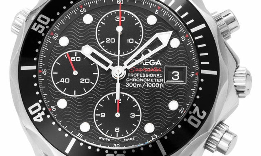 Omega Seamaster Diver 300 M Chronograph 213.30.42.40.01.001, Baton, 2010, Good, Case ma