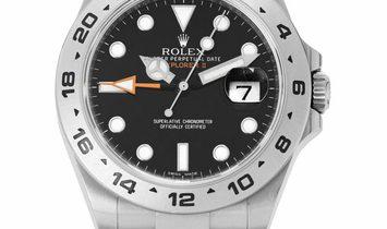 Rolex Explorer II 216570, Baton, 2017, Very Good, Case material Steel, Bracelet materia