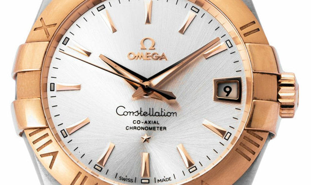 Omega Constellation 123.20.38.21.02.001, Baton, 2019, Very Good, Case material Steel, B