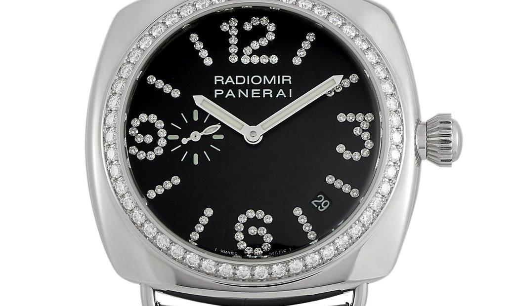 Officine Panerai Officine Panerai Radiomir Diamond Bezel Watch PAM00134
