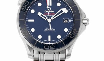 Omega Seamaster Diver 300 M 212.30.41.20.03.001, Baton, 2018, Very Good, Case material