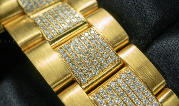 Rolex GMT Master II 116718BK Bespoke Diamond, Sapphire and Ruby Set