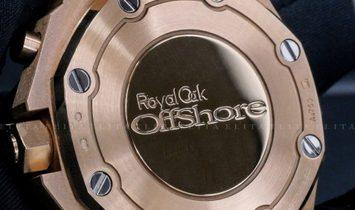Audemars Piguet Royal Oak Offshore 26231OR.ZZ.D010.CA.01 Rose Gold White Dial