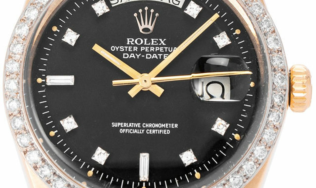 Rolex Day-Date 1803, Baton, 1978, Good, Case material Yellow Gold, Bracelet material: Y