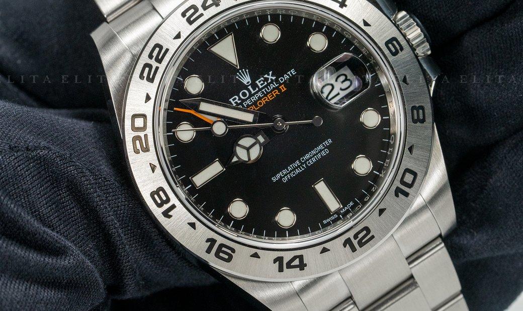 Rolex Explorer II 216570-0002 Black Dial