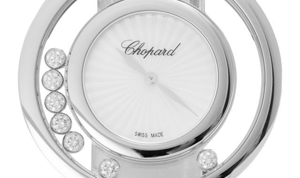 Chopard Happy Diamonds 209426-1001, Plain, 2019, Very Good, Case material White Gold, B