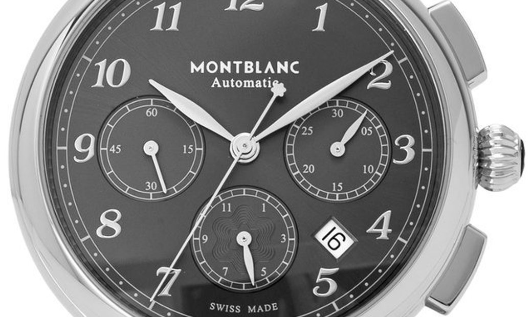 Montblanc Star Legacy 118515, Arabic Numerals, 2019, Very Good, Case material Steel, Br
