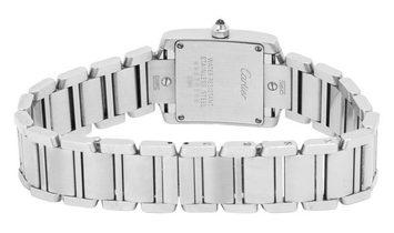 Cartier Tank Francaise W51008Q3 2384, Roman Numerals, 2012, Good, Case material Steel,