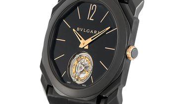 Bvlgari Bvlgari Octo L'Originale Tourbillon Ultranero Watch 102560