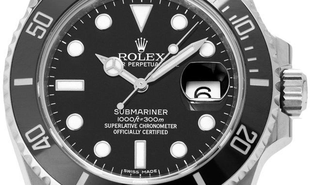 Rolex Submariner 116610LN, Baton, 2013, Very Good, Case material Steel, Bracelet materi