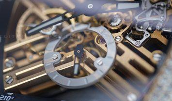 Franck Muller Vanguard  V 45 S6 SQT D 5N Skeleton Rose Gold Bespoke Diamond Set