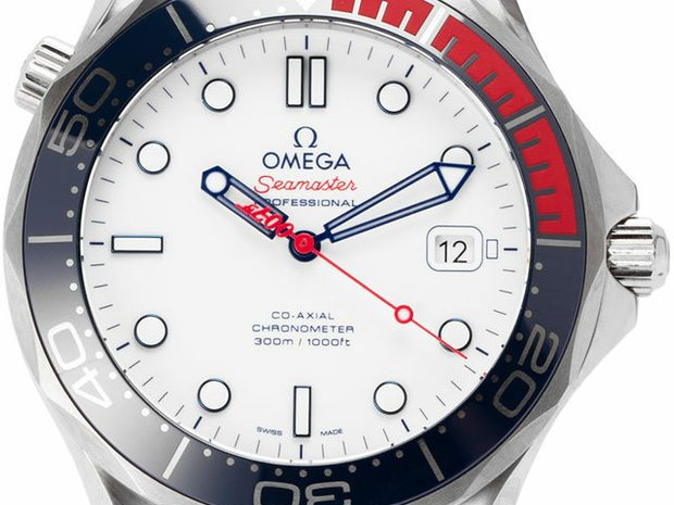 Omega Seamaster 300m Commander's Watch Limited Edition 21... (11066667)