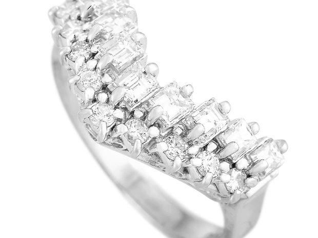 LB Exclusive LB Exclusive Platinum 1.00 ct Diamond Ring (11067232)
