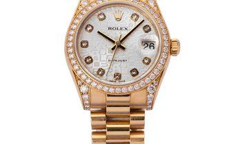 Rolex Lady-Datejust 178158, Diamonds, 2001, Very Good, Case material Yellow Gold, Brace