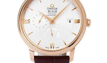 Omega De Ville Prestige 424.53.40.21.02.001, Roman Numerals, 2017, Very Good, Case mate