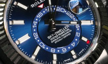 Rolex Sky-Dweller 326934-003 Oystersteel and White Gold Blue Dial