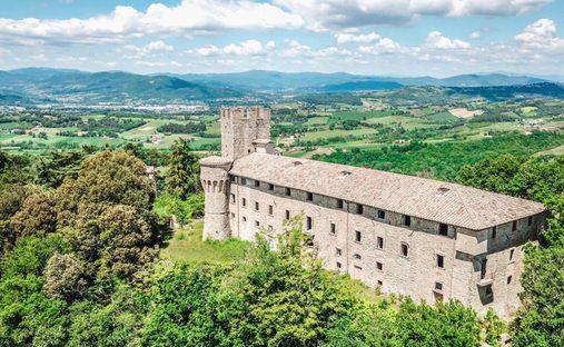 Castle in Umbria, Italy