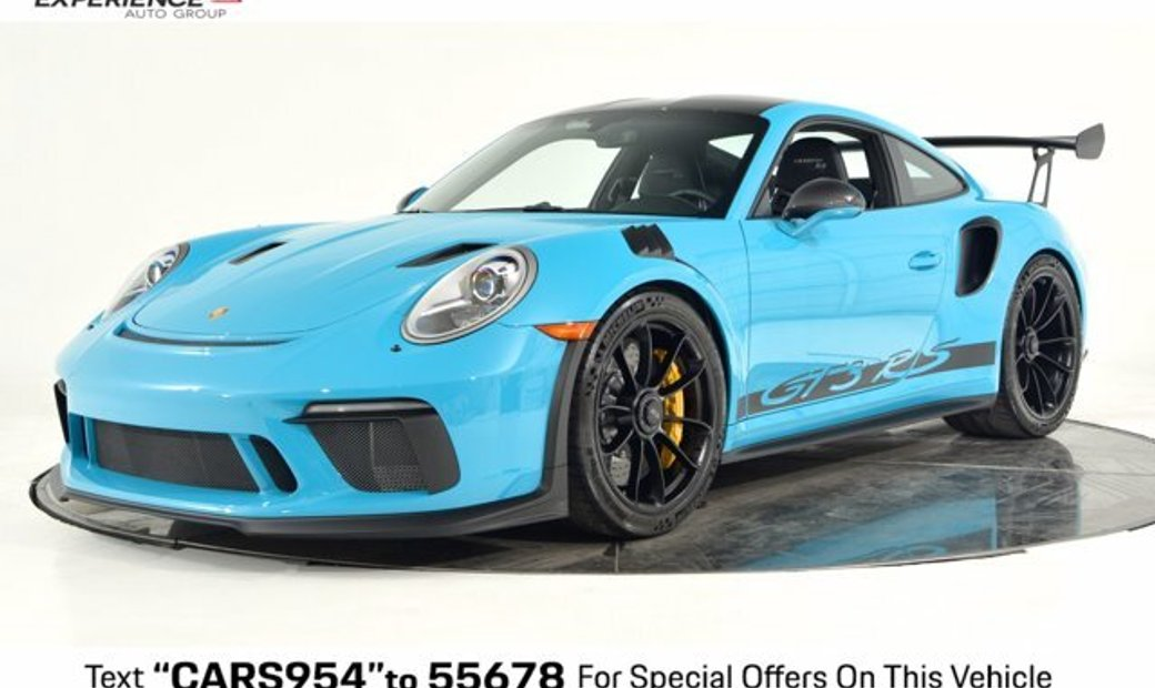 2019 Porsche 911 Gt3 Rs In Plainview Ny United States For Sale 11069168
