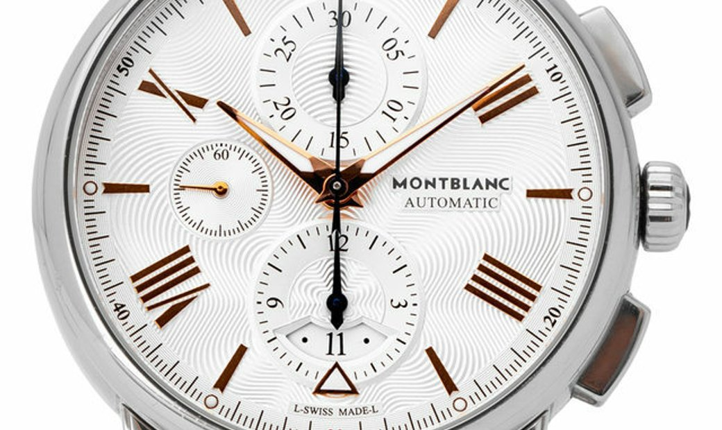 Montblanc 4810 114855, Baton, 2016, Very Good, Case material Steel, Bracelet material: