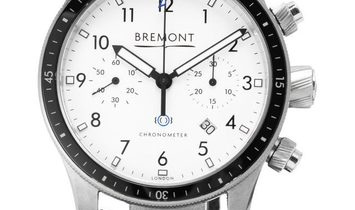 Bremont Boeing BB247-SS/WH, Arabic Numerals, 2015, Very Good, Case material Steel, Brac