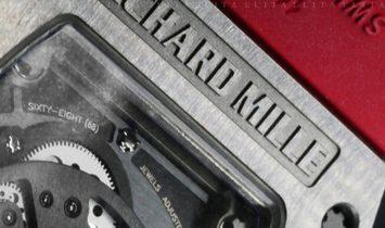 Richard Mille RM 011 FM Felipe Massa Titanium