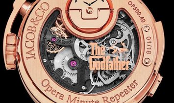 Jacob & Co. 捷克豹 [NEW][LIMITED 18 PIECE] Opera Godfather Minute Repeater OP500.40.AA.AA.ABALA