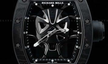 RICHARD MILLE RM 52-06 TOURBILLON MASK BLACK CARBON TPT