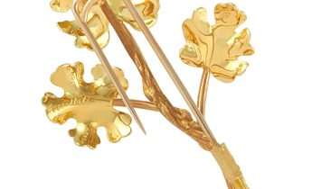 Buccellati Buccellati 18K Yellow Gold Brooch